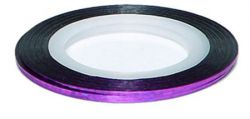 DL-03R Декоративная лента Laser purple