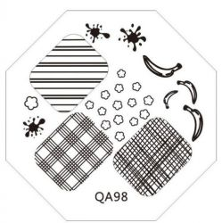 QA-98 Диск для нейл стемпинга