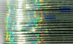DL-04R Декоративная лента Laser blue green