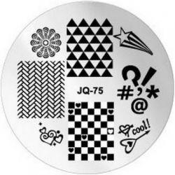 JQ-75 Диск для нейл стемпинга