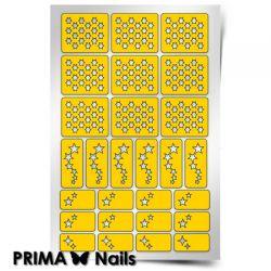 Трафарет для дизайна ногтей PRIMA Nails. Звездочет
