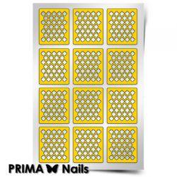 Трафарет для дизайна ногтей PRIMA Nails. Марокко