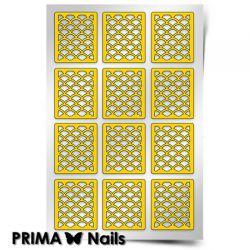Трафарет для дизайна ногтей PRIMA Nails. Русалка (средний)