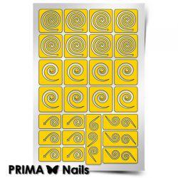 Трафарет для дизайна ногтей PRIMA Nails. Круг
