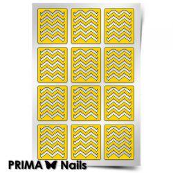 Трафарет для дизайна ногтей PRIMA Nails. Эффект водного маникюра