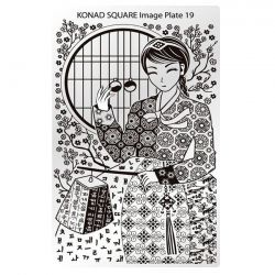 Пластина Square Plate-19 (Азия) Konad