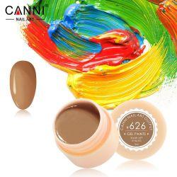 №626 Гель-краска CANNI 5 мл (пастельная светло-коричневая)