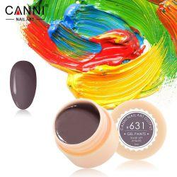 №631 Гель-краска CANNI 5 мл (темная коричнево-серая)