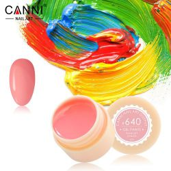 №640 Гель-краска CANNI 5 мл (нежно-розовая)