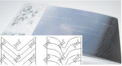 131-PFN Металлизированная наклейка серебро ( клеевая основа)