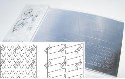 132-PFN Металлизированная наклейка серебро ( клеевая основа)