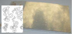 118z-PFN Металлизированная наклейка золото ( клеевая основа)