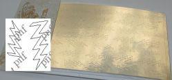 112z-PFN Металлизированная наклейка золото ( клеевая основа)