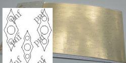 119z-PFN Металлизированная наклейка золото ( клеевая основа)
