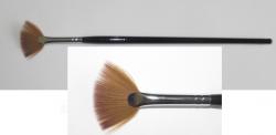 Кисть веерная Nail Art Brush Natural