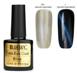 "Верхнее покрытие BlueSky Cats Eye ""Blue"" 10мл."