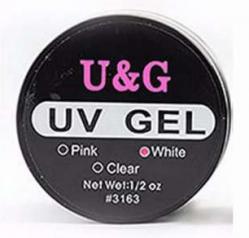 Гель однофазный белый U&G 15мл.
