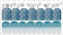 8857 Слайдер-дизайн PFN фольгированный серебро