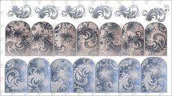 9541 Слайдер-дизайн PFN фольгированный серебро