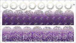 6734 Слайдер-дизайн PFN фольгированный серебро