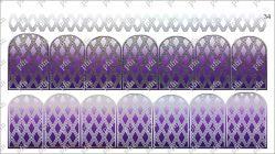 5334 Слайдер-дизайн PFN фольгированный серебро