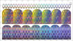 5337 Слайдер-дизайн PFN фольгированный серебро