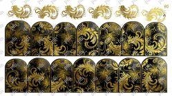 95A Слайдер-дизайн PFN фольгированный золото