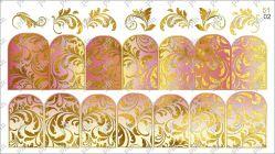 5102 Слайдер-дизайн PFN фольгированный золото