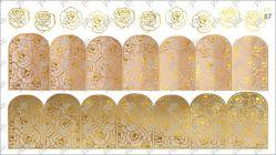 8767 Слайдер-дизайн PFN фольгированный золото