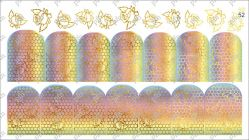 8952 Слайдер-дизайн PFN фольгированный золото