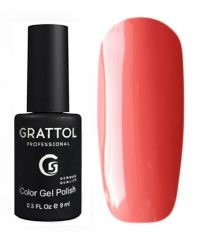 GTC053 Гель-лак Grattol Color Gel Polish - Dark Coral 9мл.