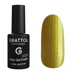 GTC069 Гель-лак Grattol Light Color Gel Polish - Gold Star 9мл.