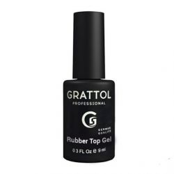 Топ Каучуковый RUBBER TOP GEL Grattol, 9 мл.
