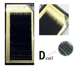 Ресницы в панеле норка Dollylash (Combi 7мм-15мм.)/0,25D