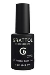 База Каучуковая IQ RUBBER BASE GEL Grattol, 9 мл.