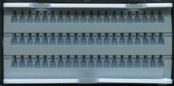 Ресницы пучковые в панеле 8мм.