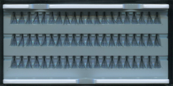 Ресницы пучковые в панеле 10мм.