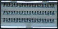 Ресницы пучковые в панеле 12мм.