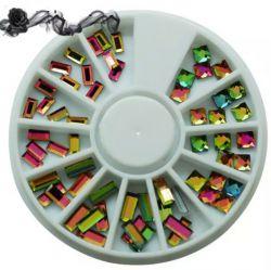 KM-33 Цветные декоративные стразы