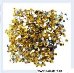 MZH-01 Стразы цветные 1,5 мм - Золотые