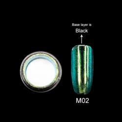 Зеркальная пыль для втирки M02 Canni 2гр.