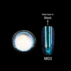Зеркальная пыль для втирки M03 Canni 2гр.
