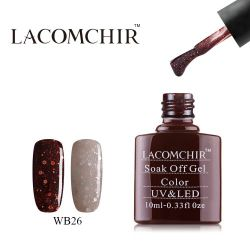 Гель-лак термо WB026 «LACOMCHIR» 10ml.