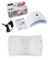 Лампа UV/LED Plus с цифровым таймером 36 ватт перламутр (белый внутр. корпус) Elsa Professional