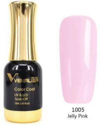#1005 Гель-лак VENALISA Jelly Pink 12мл.