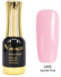 #1008 Гель-лак VENALISA Gentle Pink 12мл.