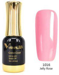#1016 Гель-лак VENALISA Jelly Rose 12мл.