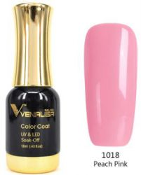 #1018 Гель-лак VENALISA Peach Pink 12мл.