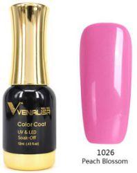 #1026 Гель-лак VENALISA Peach Blossom 12мл.