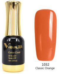 #1032 Гель-лак VENALISA Classic Orange 12мл.
